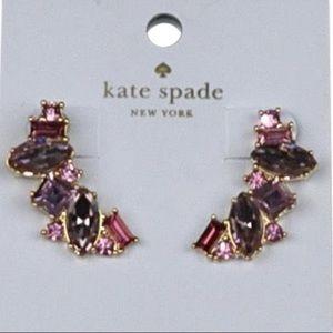 Kate Spade Pink Gem Earrings